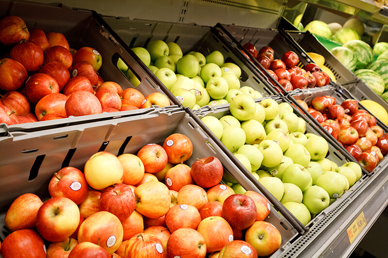 Sahand - Fruktavdelning